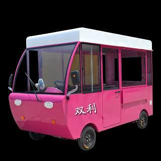 美食小吃车烧烤车早点车商圈卖场繁华路段