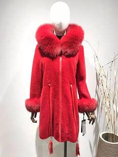 羊剪绒品牌女装折扣尾货走份批发-广州市雪莱尔服饰有限公司