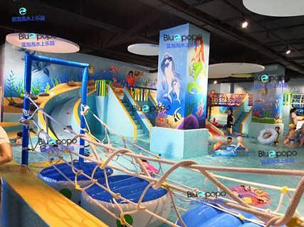 室内水上儿童乐园加盟――蓝海市场蓄势待发