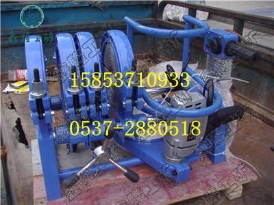 63-160手动二环单柱管焊机 PE给水管焊接机管道焊机工具