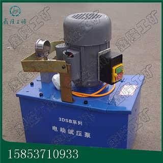 货真价实3DSB-2.5手提式电动试压泵 电动试压泵工作原理找鑫隆小吴