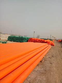 mpp复合玻璃钢管厂家【河北轩驰】mpp电力管价格