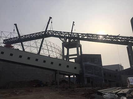 钢结构连廊施工,钢结构连廊加工公司-三维钢构