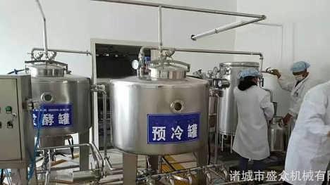 新款牛奶发酵罐  酸奶全套设备