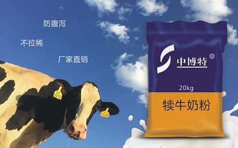 全国初生牛犊子喝的奶粉中博特犊牛奶粉