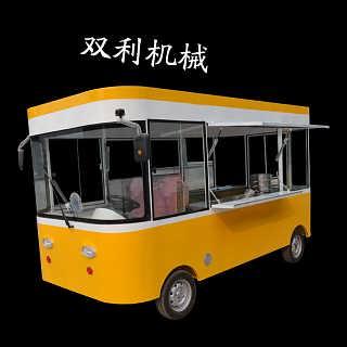 移动保温快餐美食车水果蔬菜车功能多样