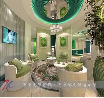 荥阳专业美容店设计郑州美容店装修公司推荐几款流行的店铺风格