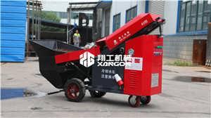 二次构造浇筑泵 二次构造柱泵 构造柱泵-山东翔工机械有限公司-专注路面机械生产