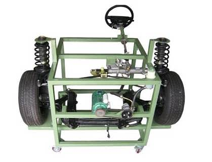 动力转向及前悬挂系统实训台-滕州市金赢机械设备有限公司