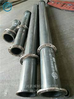 无锡耐磨管道 耐磨陶瓷复合管 陶瓷耐磨管道安装价格 江河机械