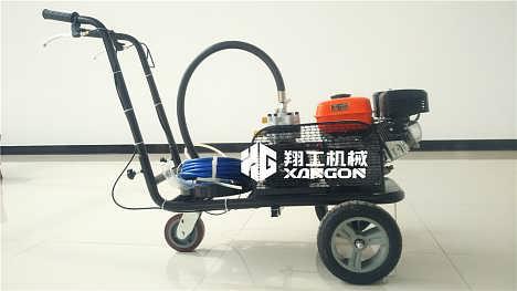 延边小型扫雪机手推式抛雪机干净除雪-山东翔工机械有限公司-专注路面机械生产