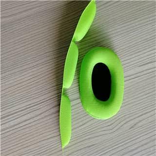 订做耳机全周波热压彩色皮耳套护套-东莞市辉晟海绵制品有限公司.