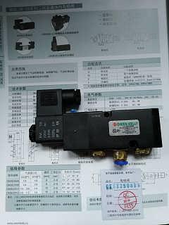 欧文凯利 两位五通电磁阀OKSE2510-B7-守信自动化有限公司