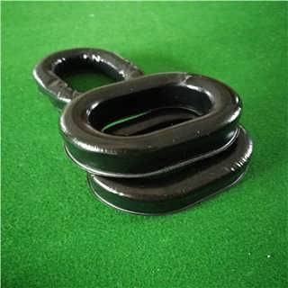 订做TPU填充硅油海绵耳套吸塑硅胶皮耳套-东莞市辉晟海绵制品有限公司.