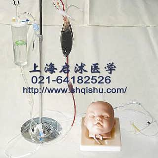 高级婴儿头部双侧静脉注射穿刺训练模型-上海启沭医学仪器有限公司