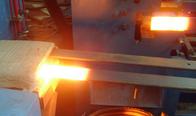 二零壹玖新型板簧卷耳电加热设备-汽车板簧加热电炉