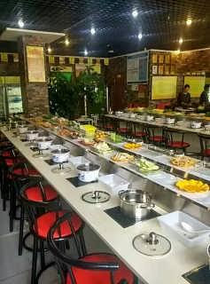 阿克苏回转火锅吧台式专业定制-成都壹欣餐饮管理有限责任公司重庆分部