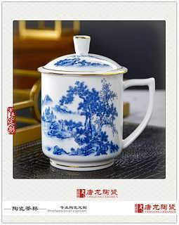 陶瓷茶杯  办公杯专业定制-景德镇市唐龙陶瓷有限公司・生产部