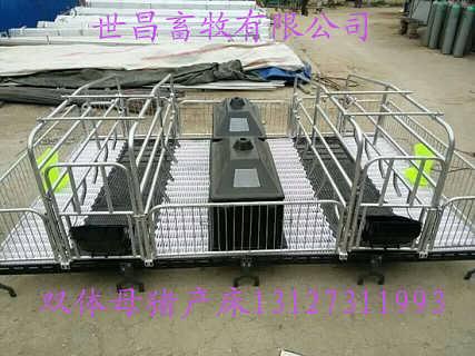 老母猪使用母猪分娩产床的优点及好处-泊头市世昌畜牧机械有限责任公司