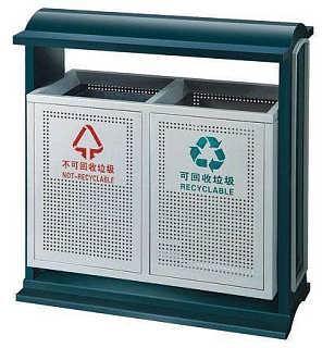 公园医用家用垃圾桶支持定制/长椅材质贴纸-南京拉瑞斯金属制品有限公司