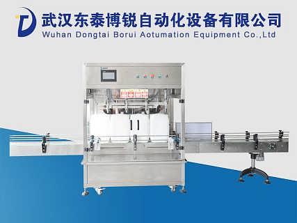 东泰博锐20L的食用油灌装机 国内机械知名品牌-武汉东泰博锐自动化设备有限公司.