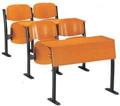 订制大学生课桌椅 广东课桌椅生产厂家 阶梯教室课桌椅功能展示图