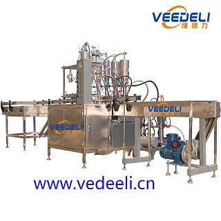 VDL303全自动气雾剂灌装机