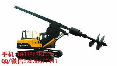 厂家直供机锁杆履带式旋挖钻机 建筑工程施工机械旋挖钻机