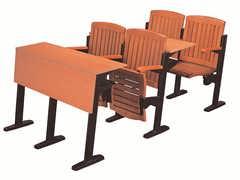 公司培训室多人位连排桌椅生产厂家
