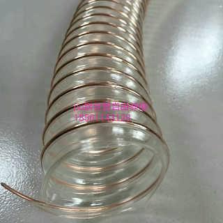 PU钢丝伸缩管透明钢丝波纹管
