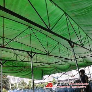 伸缩手拉帐篷-广东帐篷厂商-防雨遮阳布