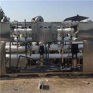 供应二手10吨双级反渗透纯水设备价格