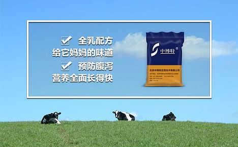 犊牛代乳粉的配方