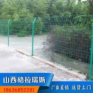吕梁公路绿色双边丝护栏网供应