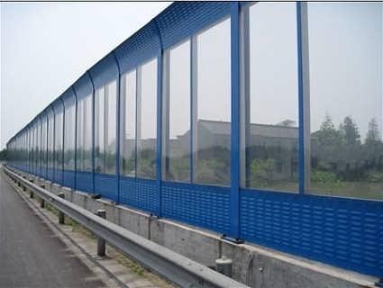 聊城市公路声屏障-声屏障h型钢柱-金属微孔声屏障
