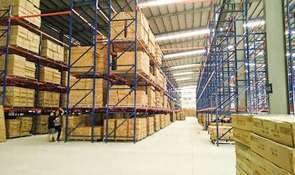 广州货架定制广东省仓储设备公司广州仓库货架定做-中山市联合众邦物流设备有限公司
