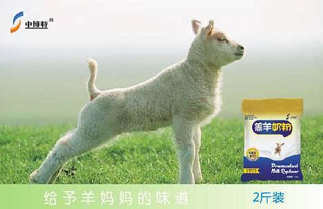 乐山小羊吃的奶粉