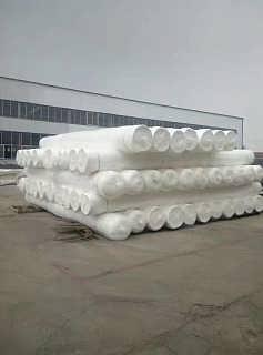 聚酯长丝土工布高速公路养生宏祥生产厂家直销