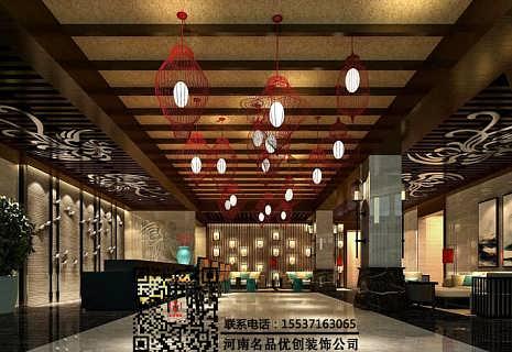 郑州SPA会所装修设计公司注意细节,河南郑州休闲会所装修设计案例