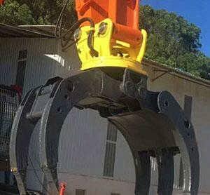 抓木器的研发流程是怎样的-烟台天地工程机械有限公司