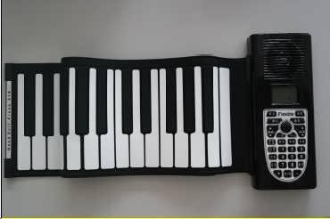供应博锐经典热卖款带音响电子钢琴-东莞市宝睿硅胶制品有限公司销售部门部