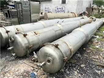 供应二手三效五吨降膜蒸发器厂家