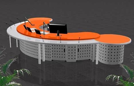 控制台非编操作台音频控制台-河北全特机械设备制造有限公司