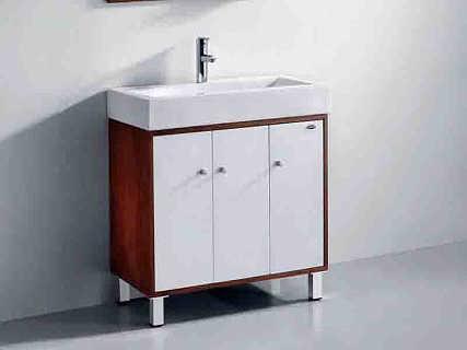 恒晟全铝浴室柜 绿色智能家具 选恒晟准没错