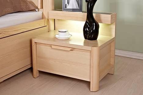 全铝床头柜 环保无醛不变形 优选恒晟全铝家居