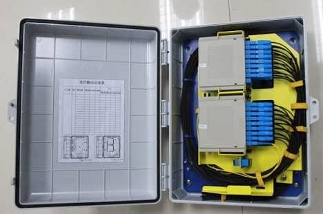 32芯分纤箱