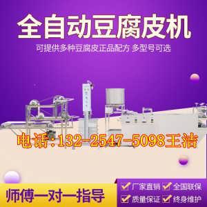 扬州全自动大型豆腐皮机 聚能多功能小型千张机