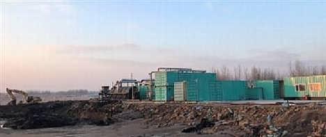 油田油泥无害化处理装置,华北油田油泥,众迈环保查看