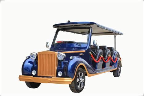 贵州电动旅游观光车厂家直销电瓶观光游览车价格房地产楼盘看房车