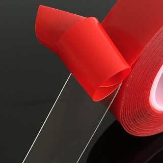 3m双面胶 透明强力 超强力粘性无痕双面胶带